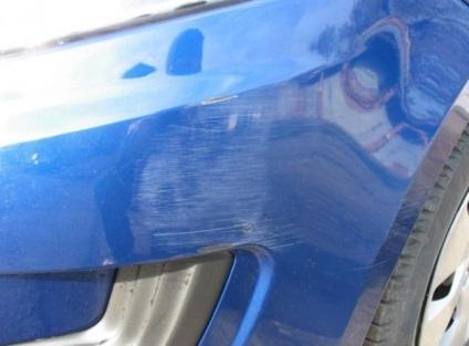 Полировка царапины на автомобиле своими руками 5