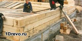 Строительство из бруса своими руками пошаговая инструкция 46
