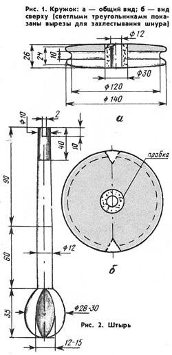 Как сделать правильно кружок для щуки 356