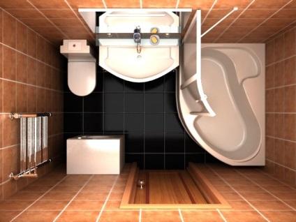 Hajlam fürdőszoba ötletek különböző méretű