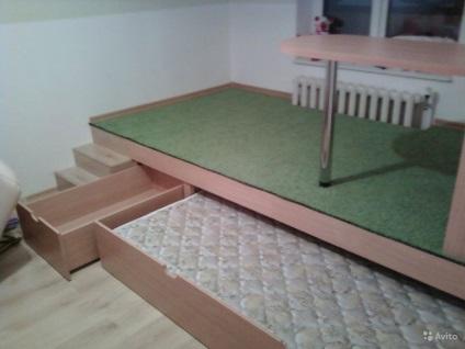 Сделать кровать с выдвижной кроватью своими руками 22