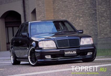Hangolás Mercedes 124 modell (W124)