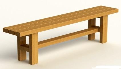 Деревянные скамейки своими руками для бани 37