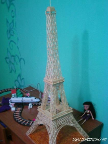 Эйфелева башня сделана своими руками 589