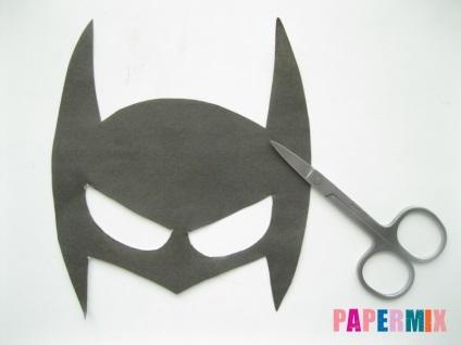 Маска бэтмена сшить своими руками пошаговая инструкция 76