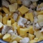 Burgonya majonéz multivarka
