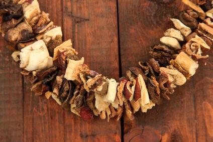 Módszerek szárításhoz gombák otthoni