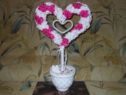 Сделать сердце своими руками свадебное 158