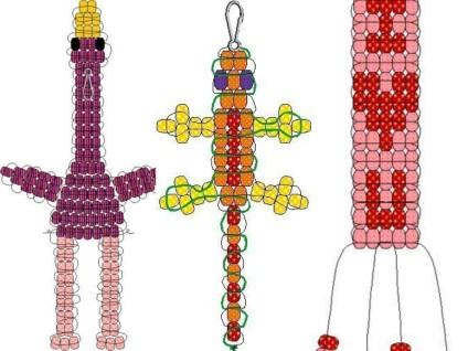 Плетение подарков из бисера 11