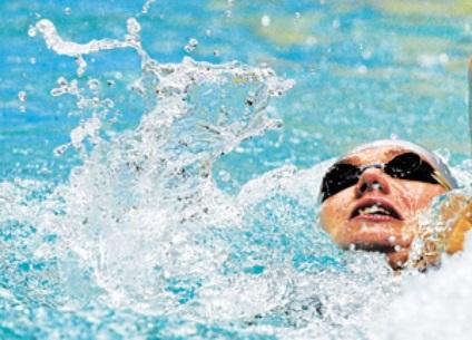 Gyakorolják a víz - egy hatékony fürdés gyakorol aerobic természet