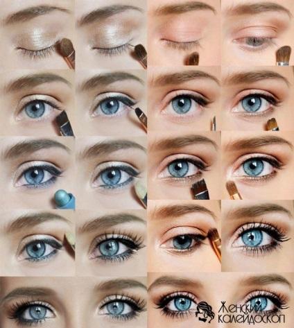 Красивый макияж выделяющий глаза