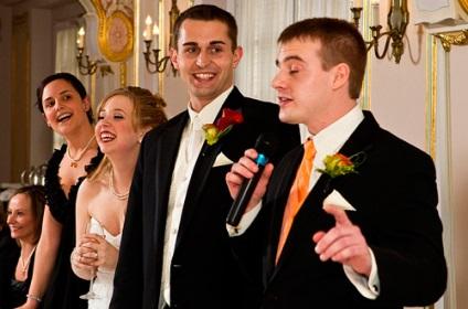 Тост дружка на весіллі