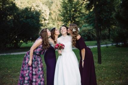 5 mondatok, hogy a menyasszony nem kell beszélni, hogy a barátai - a menyasszony