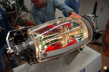 Модель турбореактивного двигателя своими руками 31