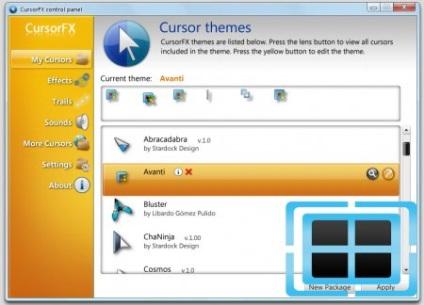 Як встановити курсори для cursorfx - інструкція по установці