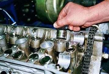 Замена гидрокомпенсаторов на 405 двигателе своими руками