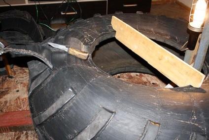 Как сделать покрышку для колес 7