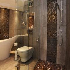 a fürdőszoba nélküli zuhanykabinnal fotó