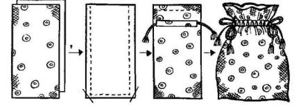 Как сшить мешочек для трав своими руками. Выкройка и мастер-класс