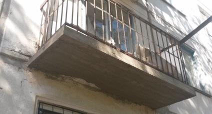 Ремонт балконної плити - як правильно виконувати.