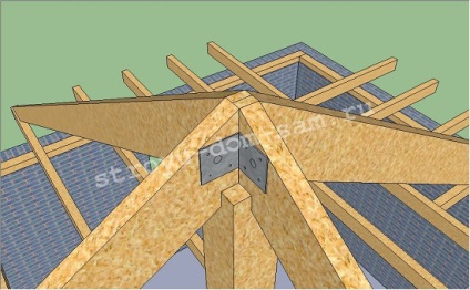 Крыша шатровая своими руками 94