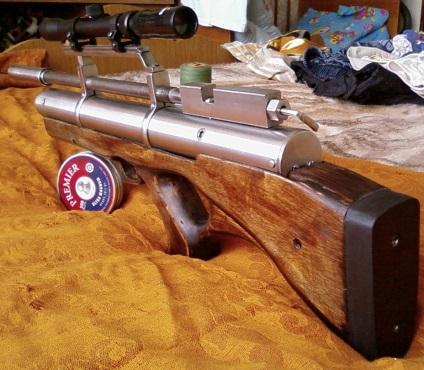 Скорострельное пневматическое ружьё своими руками 33