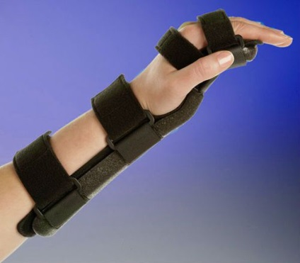 Лангетка на кисть руки своими руками 613