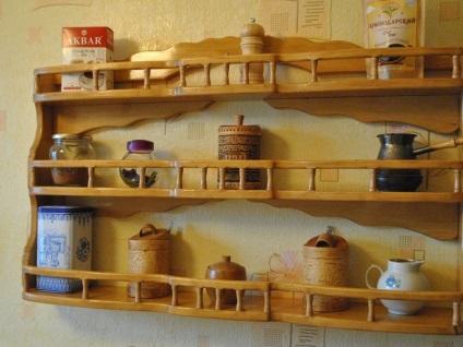 Декоративные полки на кухню своими руками фото 75