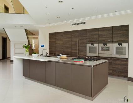 elem a modern konyha kialakítása divat trendek belsőépítészeti