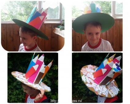 Оригинальные шляпы своими руками для детей на конкурс шляпа 475