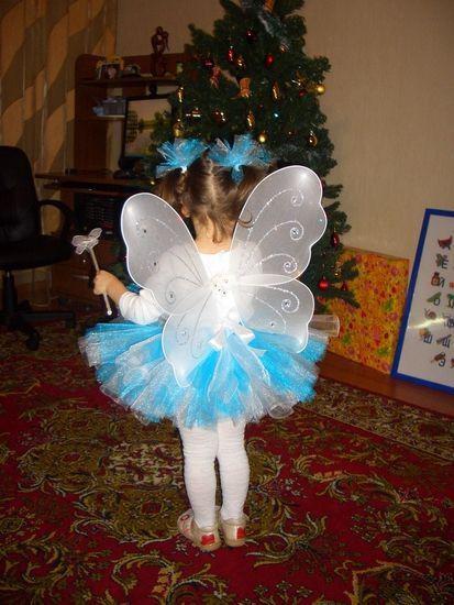 Бабочки к костюму своими руками 82