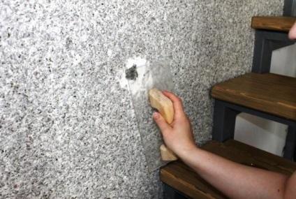 Ремонт пошкоджених шпалер своїми руками