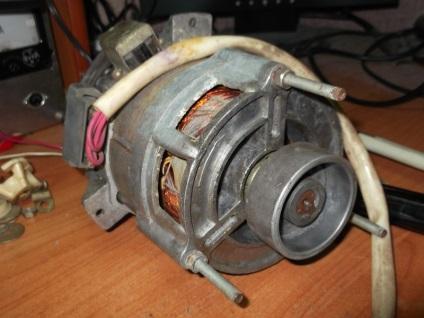 Как сделать из электродвигателя от стиральной машины 531