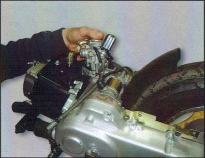 Ремонт скутера своими руками 4 х тактный 9