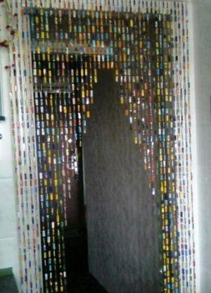 Висюльки на дверь своими руками из бумаги 95