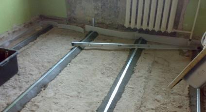 Száraz beton használata