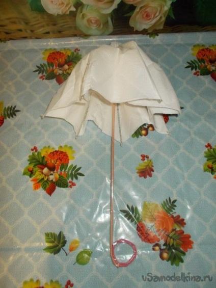 Как сделать зонтик из картона своими руками 59