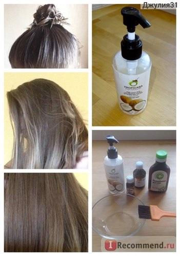Где в украине можно заказать хорошее кокосовое масло для волос?