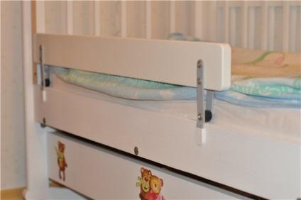 Ограничители для детской кровати или ограничитель