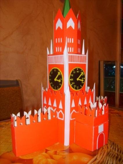 Поделки из бумаги своими руками башня 76