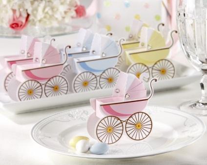 Ünnep tiszteletére az újszülött ünnepélyes menyasszony vagy a baba zuhany