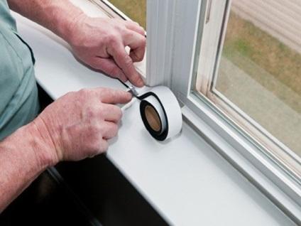 Замена утеплителя в пластиковых окнах своими руками