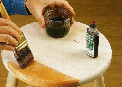 Морилка для мебели из дерева