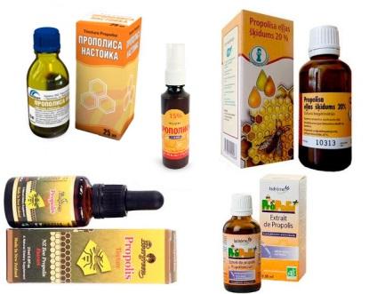 Лікуємо прополісом застуду і грип
