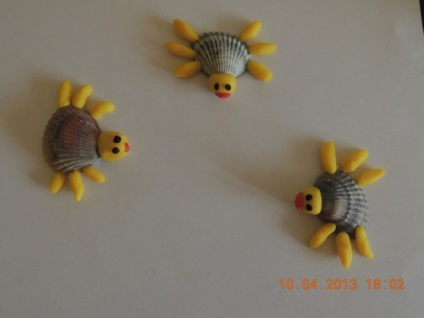 Поделки из ракушек для детей 6 лет своими руками 70