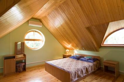 felső határ a tetőtérben mennyezet tető, a szoba fotó, a hálószoba ...