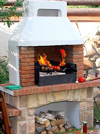 Как сделать печь и мангал из кирпича