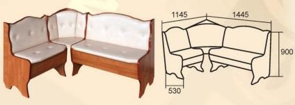 Как сделать мягкий кухонный уголок своим 603