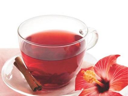 Чай каркаде при грудном