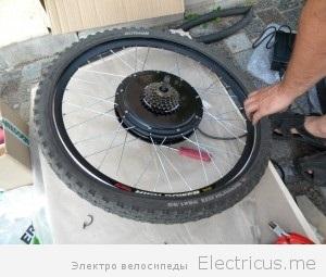 Комплект мотор колесо своими руками 60